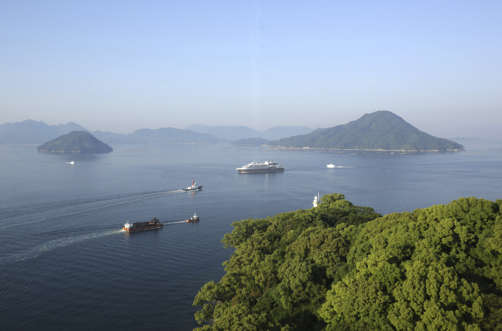 Hiroshima Bay, Seto Inland Sea, Japan